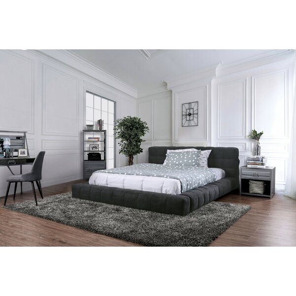 Meunier Low Profile Upholstered Platform Bed by Mercer41