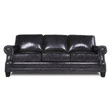Riley Genuine Leather 88 Round Arm Sofa by Trent Austin Design®