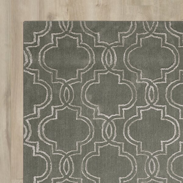 Latinne Handmade Moss Area Rug by House of Hampton