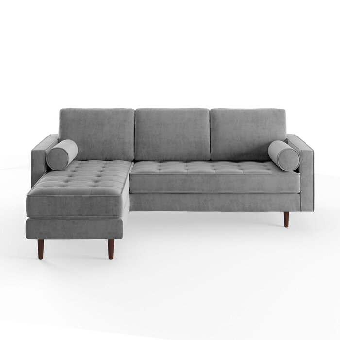 Astounding Derry Reversible Modular Sectional Machost Co Dining Chair Design Ideas Machostcouk