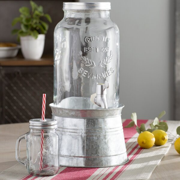 Gustave Beverage Dispenser by Laurel Foundry Moder