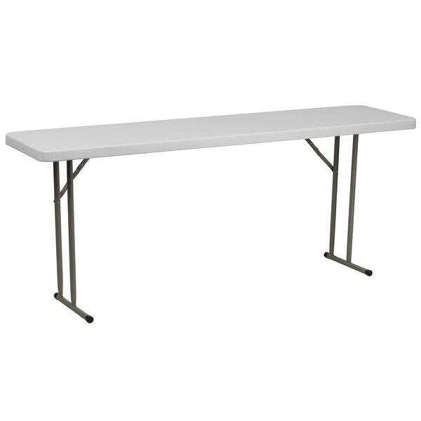 72 Rectangular Folding Table by Flash Furniture