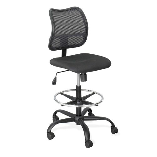 Vue Mid-Back Mesh Drafting Chair by Safco Products Company
