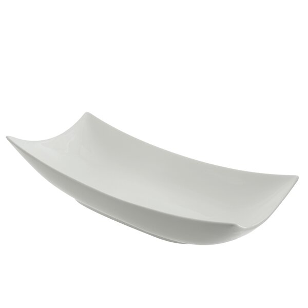 Oslo Serveware Rolled Coupe Platter by Ten Strawberry Street