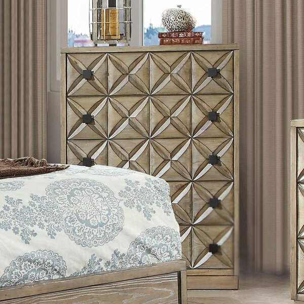 Marilynn 5 Drawer Chest by Bungalow Rose