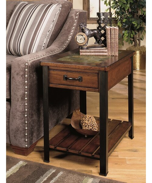 End Table With Storage by Wildon Home ®