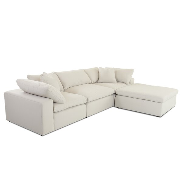 Looking for Kadence Sectional With Ottoman By Latitude Run 2019 Sale