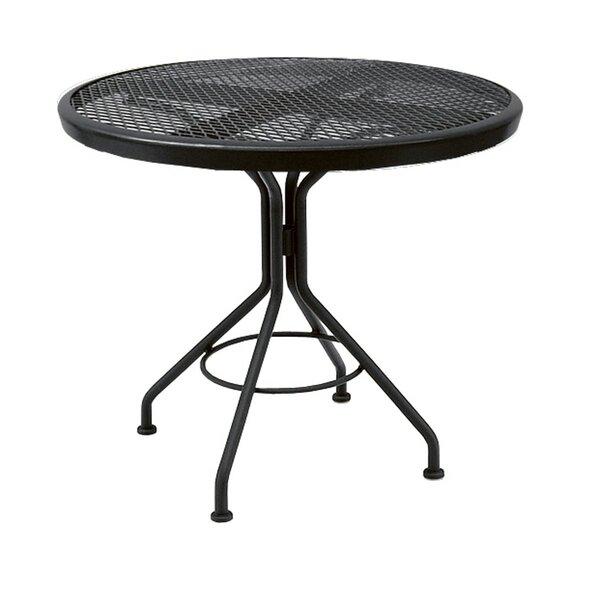 Mesh Metal Bistro Table by Woodard Woodard