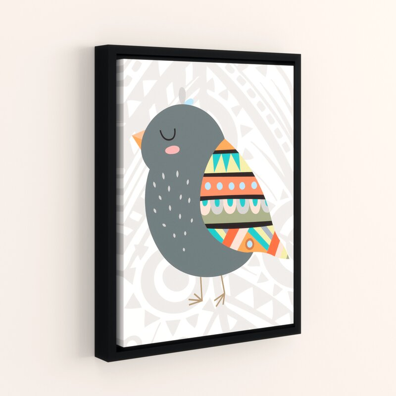 Viv Rae Aida Tribal Bird Framed Art Wayfair