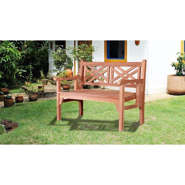 Causglen Teak Garden Bench by Gracie Oaks