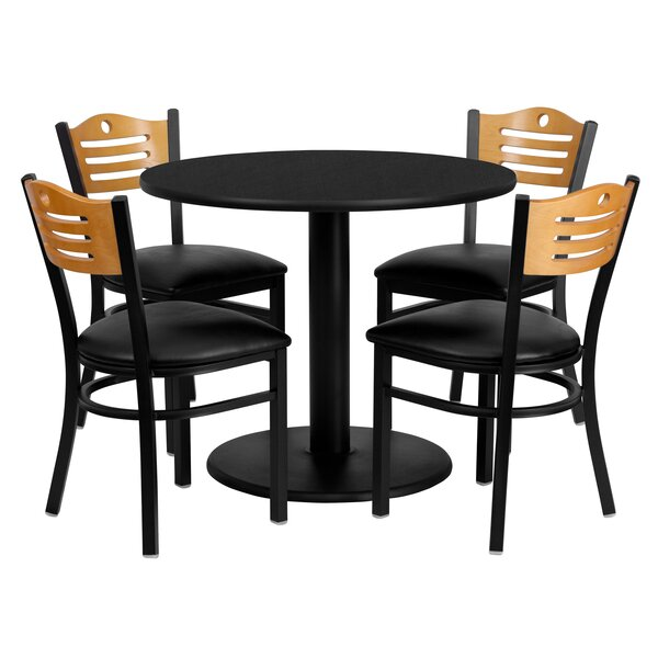 Santosh 5 Piece Dining Set by Red Barrel Studio Red Barrel Studio