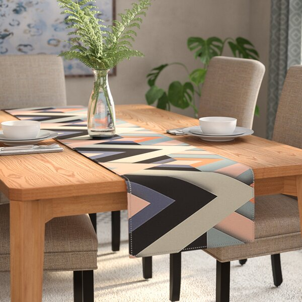 Akwaflorell Sweet & Sharp Table Runner by East Urban Home