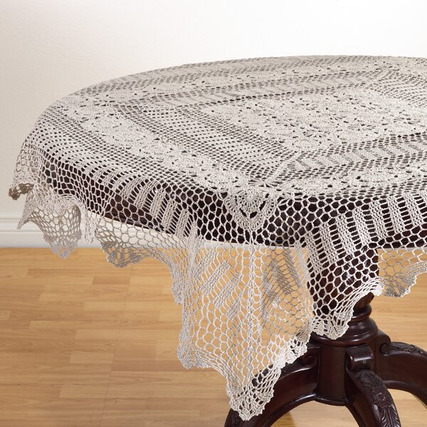 Le Crochet Lace Tablecloth by Saro