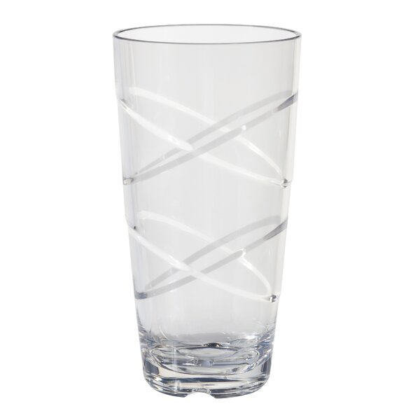 Layla Circus 24 oz. Acrylic Every Day Glasses (Set of 10) by Ebern Designs