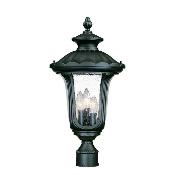 Princeton Outdoor 3-Light Lantern Head by Charlton Home