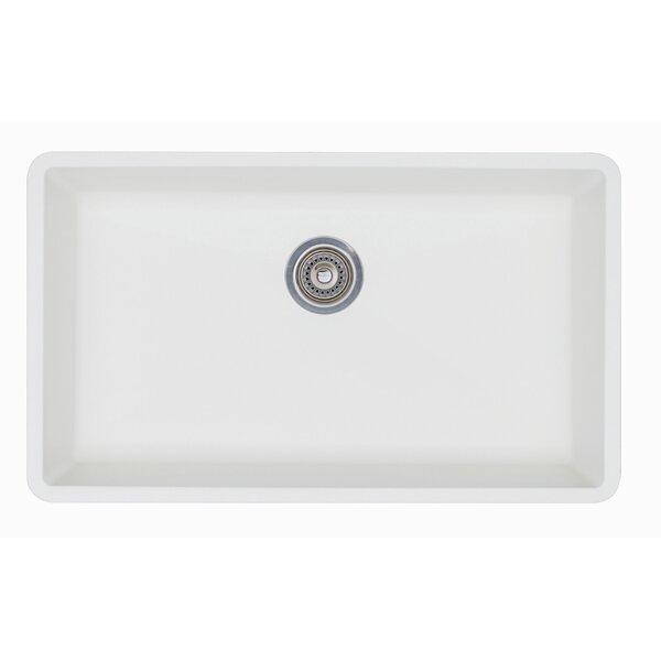Precis 32 L x 19 W Super Single Bowl Kitchen Sink by Blanco