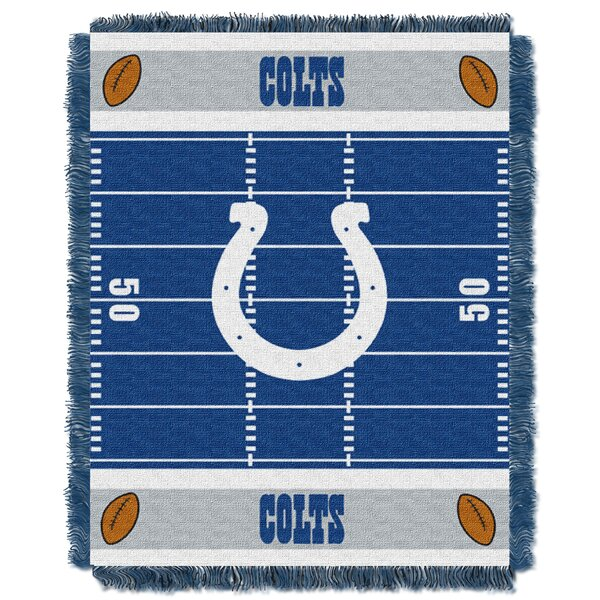 NFL Colts Field Baby Blanket by Northwest Co.