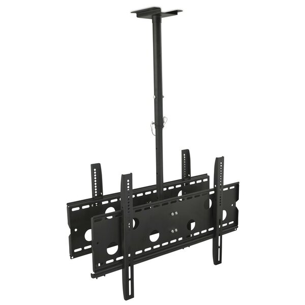 Dual Screen Rotating Tilt Ceiling Mount 32-75 LCD/Plasma/LED by Mount-it