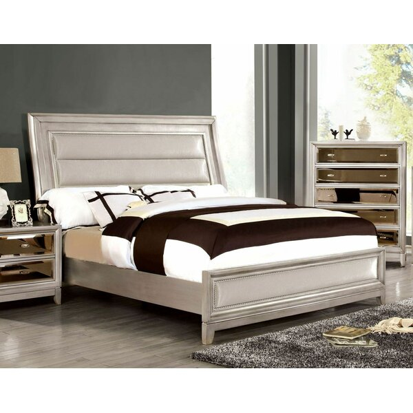 Loyce Upholstered Standard Bed by Everly Quinn