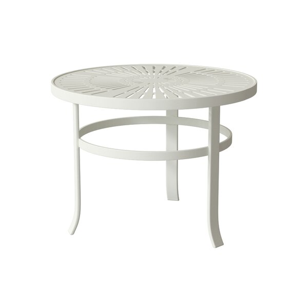 La'Stratta Metal Side Table by Tropitone Tropitone