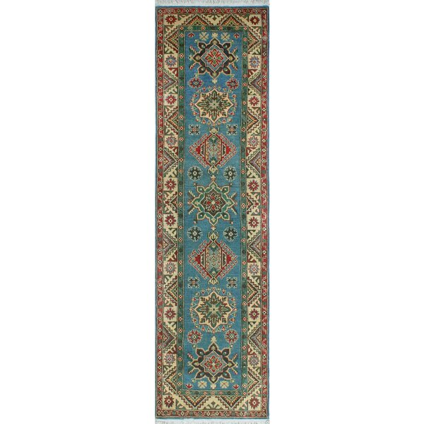 One-of-a-Kind Wendland Logan Hand-Knotted Blue Area Rug by Loon Peak