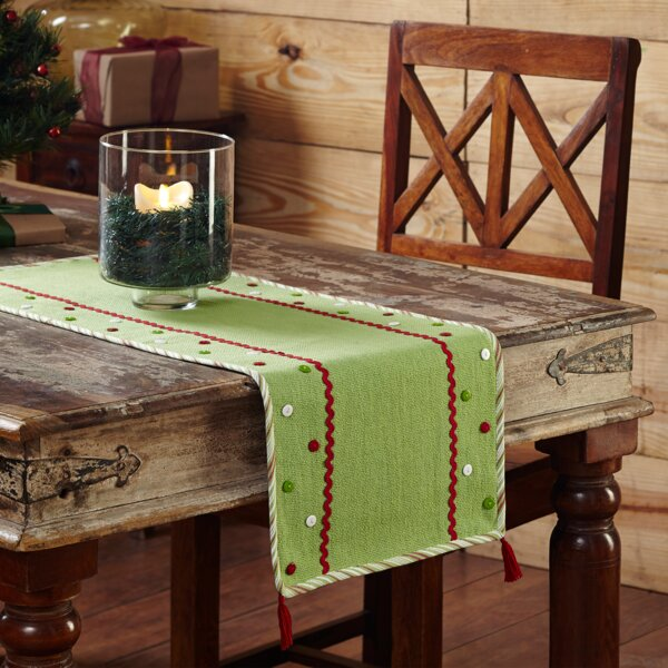 Whimsical Christmas Table Runner by The Holiday Aisle