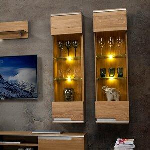 Dalzell 1 Door Display Accent Cabinet by Brayden Studio