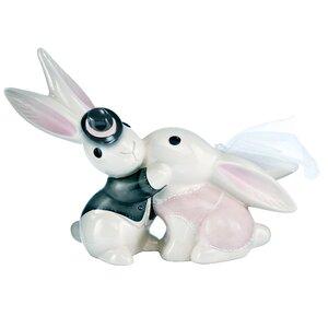 Figur Hasen-Hochzeitspaar Bunny de luxe