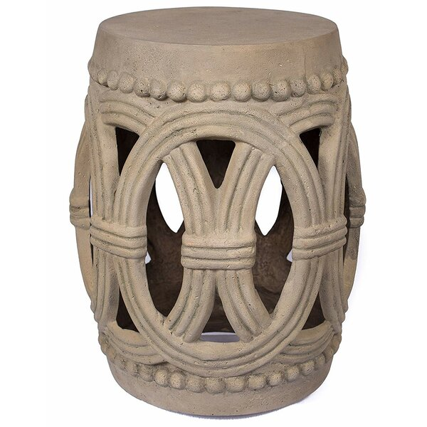 Kremer Stonecast Garden Stool by August Grove August Grove