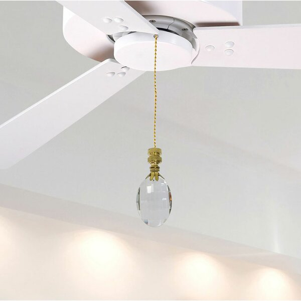 Fan Pull Chain with Oval Radiance Finial by Royal Designs