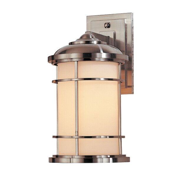 Georgia 1-Light Outdoor Wall Lantern by Latitude Run