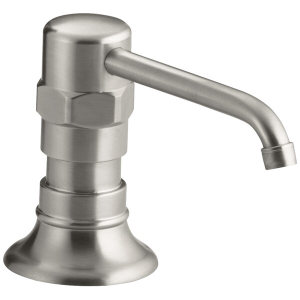 Hirisestainless Soap/Lotion Dispenser by Kohler