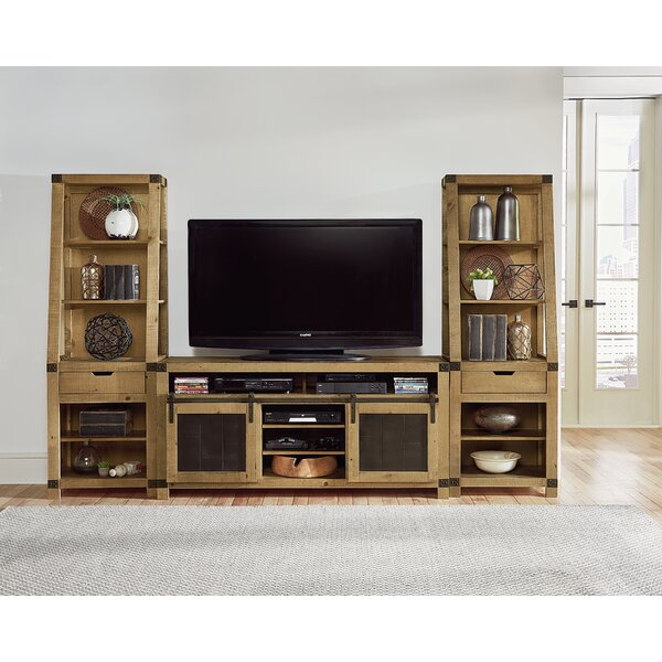 Morningside Solid Wood Entertainment Center For TVs Up To 55