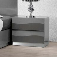 Moumoune 2 Drawer Nightstand by Orren Ellis