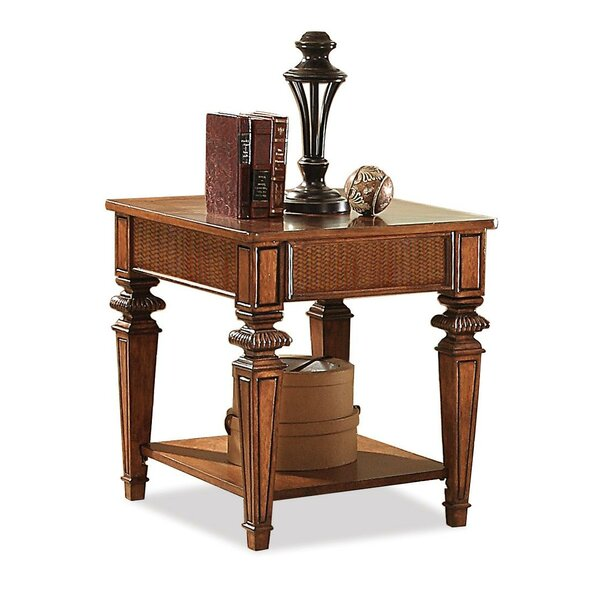 Leander End Table by World Menagerie