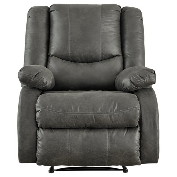 Alyse Faux Leather Manual Wall Hugger Recliner W002611136
