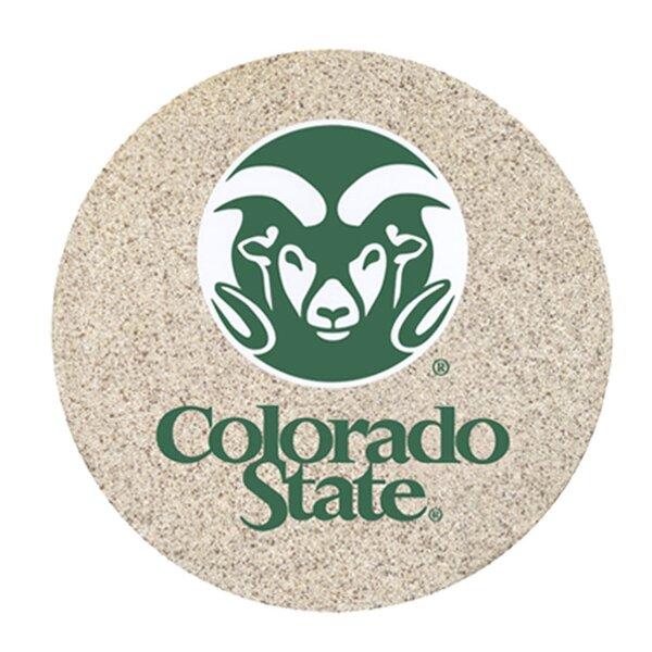 Colorado State University Collegiate Coaster (Set of 4) by Thirstystone