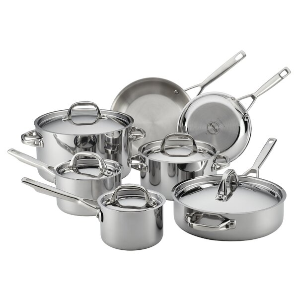 12 Piece Cookware Set by Anolon