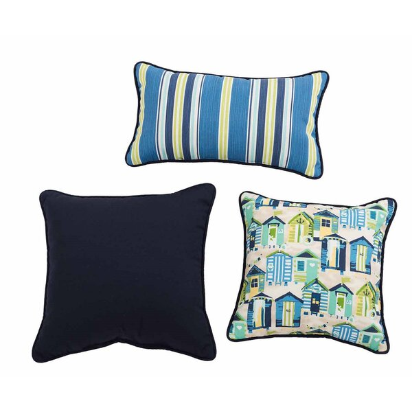 Gamitch 3 Piece Indoor/Outdoor Pillow Set by Highland Dunes
