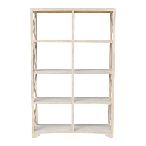 Gallegos X-Design Etagere Bookcase By Rosecliff Heights