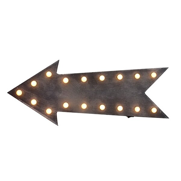 Lighted Arrow LED Marquee Sign by Wing Tai Trading