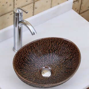 Buying Elite Ceramic Oval Vessel Bathroom Sink By Elimaxs