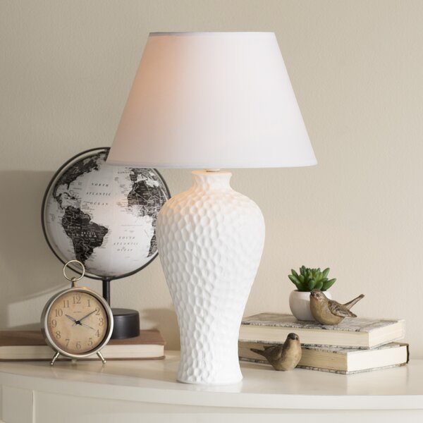 Lawhon Ceramic Curvy 20.08 Table Lamp by World Menagerie