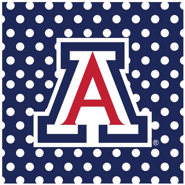 University of Arizona Square Occasions Trivet by Thirstystone