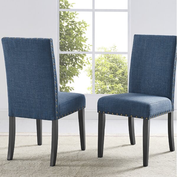 Haysi Fabric Upholstered Side Chair (Set Of 2) By Greyleigh