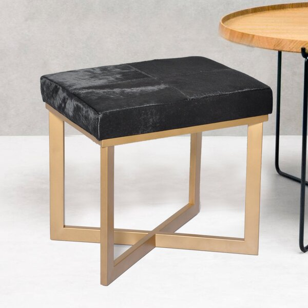 Hollywood Accent Stool by Fashion N You by Horizon Interseas