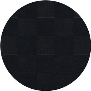 Price Check Dover Tufted Wool Black Area Rug ByDalyn Rug Co.
