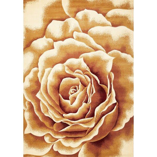 Eve Floral Splendor Area Rug by Ebern Designs