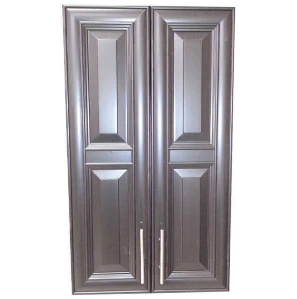 Overton 21 W x 42 H Recessed Cabinet by WG Wood Products