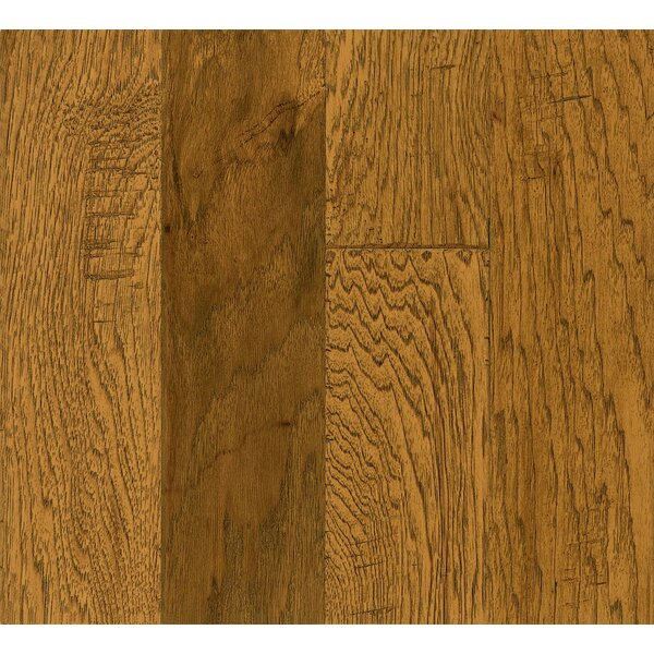 Legacy Manor 5 Engineered Hickory Hardwood Flooring in Light Chestnut by Armstrong Flooring